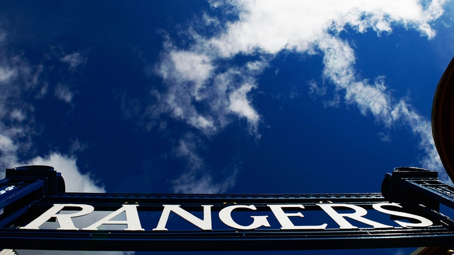 Rangers are currently playing in the third tier of Scottish football