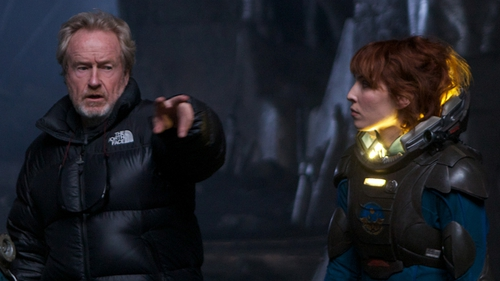 Ridley Scott is promising three more Prometheus movies
