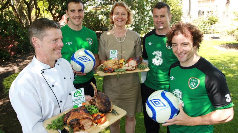 Bord Bia announces partnership with Irish team