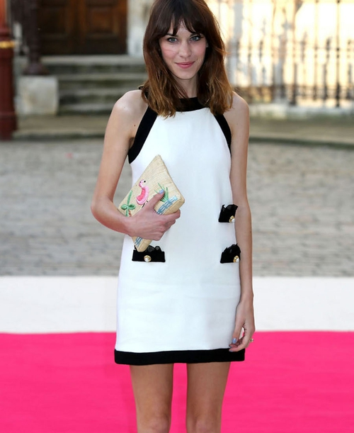 Alexa Chung has constantly come under fire for her slender frame