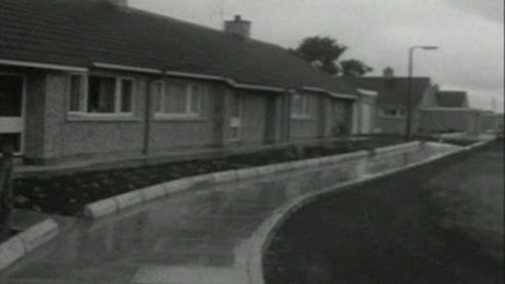 Kinnard Park, Caledon taken from a RTÉ News report on 20 June 1968.