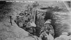 Wounded British troops in a communications trench Courtesy Library of Congress LC_B2_4724_11