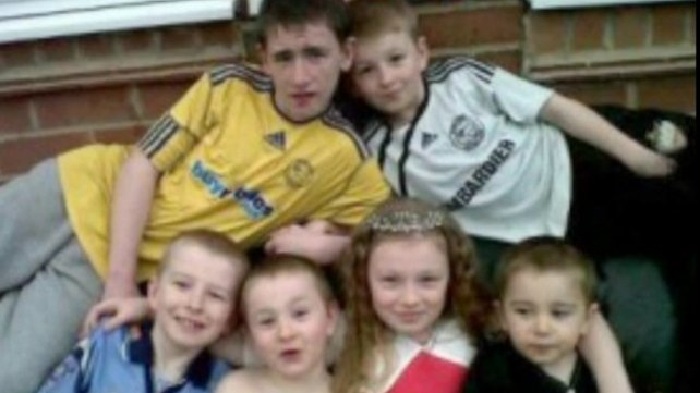 Jade Philpott and her brothers John, Jack, Jesse, Jayden and Duwayne all died in the fire