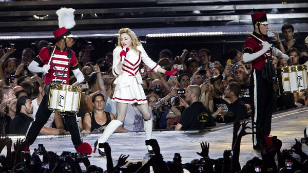 Madonna and her dancers kick off tour