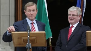 Both polls show a broad drop in support for Fine Gael and Labour