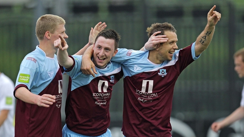 Drogheda's win sees them now six points adrift of league leaders Sligo Rovers
