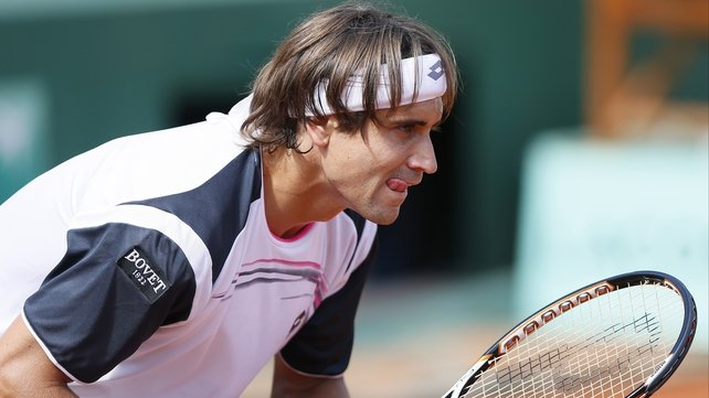 David Ferrer made short work of Kevin Anderson