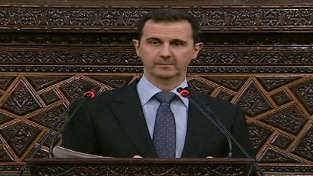 Bashar al-Assad repeated pledge to crackdown on opponents