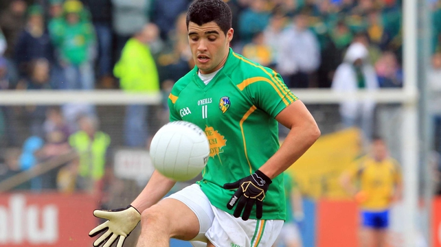 New captain Emlyn Mulligan was on target for Leitrim