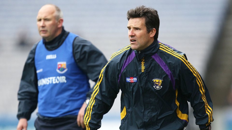 Managers Glenn Ryan of Longford and Jason Ryan of Wexford were involved in a close affair