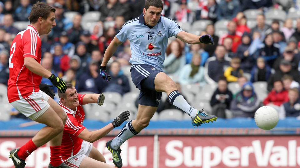 The result was never in doubt once Bernard Brogan netted for Dublin