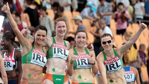 Marian Heffernan, Joanne Cuddihy, Claire Bergin and Michelle Carey are all included in the 4x400m relay team