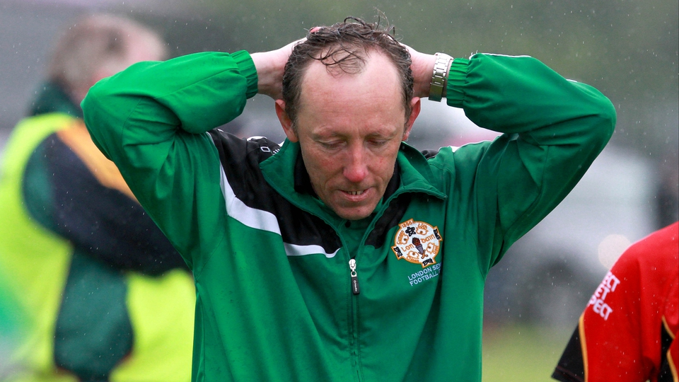London boss Paul Coggins was gutted to lose by a single point against Leitrim in the Connacht Championship