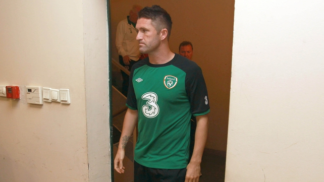 Robbie Keane will try to help Ireland salvage some pride against the Faroe Islands