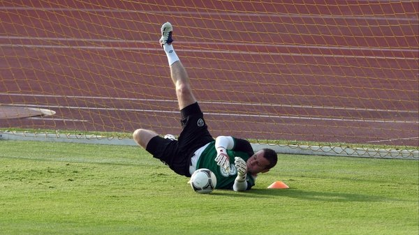 Shay Given is looking forward to getting back playing again