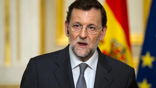 Spanish prime minister Mariano Rajoy has denied any wrongdoing