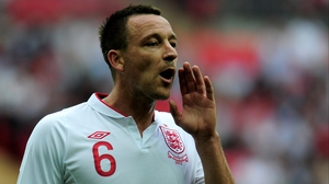 John Terry has not played for England since 2012