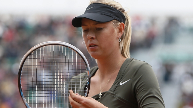 Sharapova will take over as world number one if she reaches the final