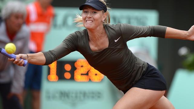 Maria Sharapova beat Klara Zakopalova after three hours