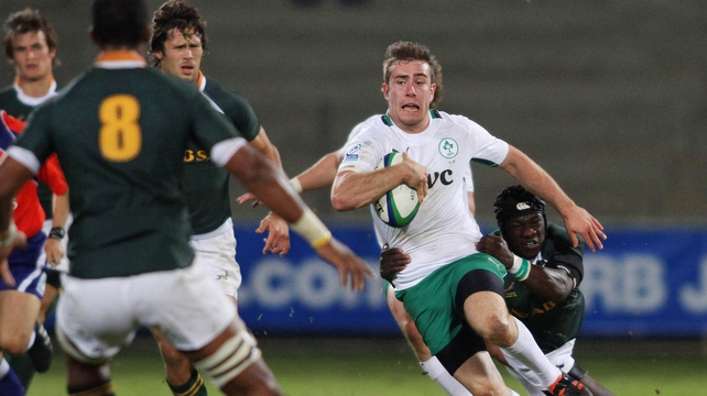 JJ Hanrahan is one of three players nominated for the IRB Junior Player of the Year Award