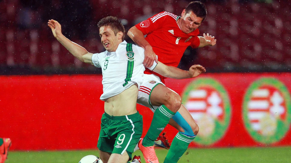 Kevin Doyle worked tirelessly with Jon Walters coming on at the break