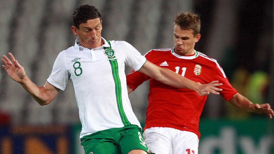 Keith Andrews did his best to shore up options in the Hungarian midfield
