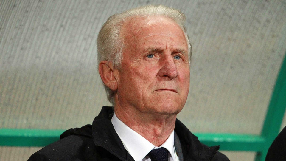 Giovanni Trapattoni watched John O'Shea and Shay Given come through the game unscathed