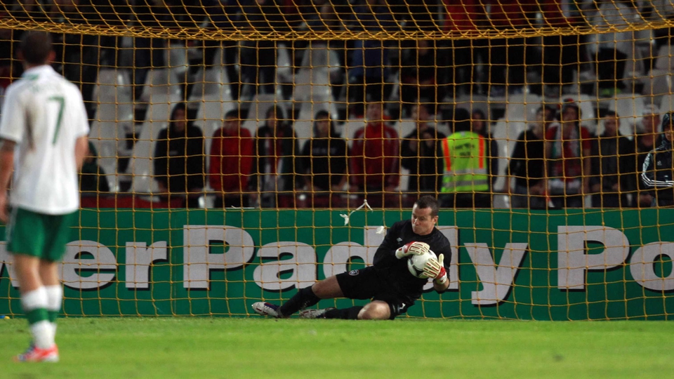 Shay Given's 45 minute run-out was a big boost to Trap