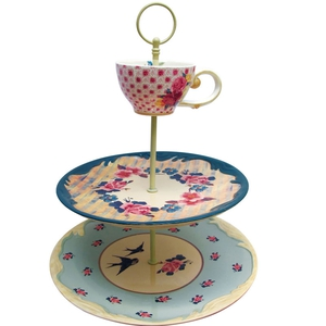 Floral & Song Bird Cake Stand; €43 from The Gifted Penguin