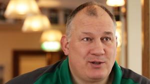 Coach Mike Ruddock