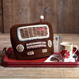 Knitted Radio Tea Cosy ; €24 from Cath Kidston