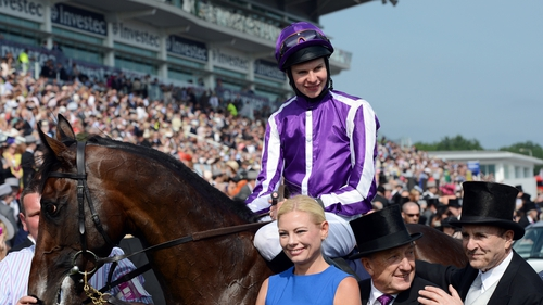 Joseph O'Brien rode Gale Force Ten to victory at Dundalk