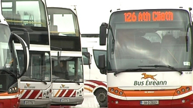 Bus Éireann has projected losses of €16m for 2013