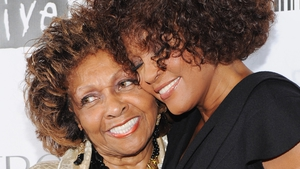 Cissy Houston pictured with Whitney in 2012