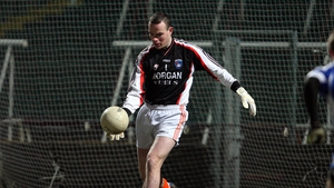 Philip McEvoy is between the posts as Armagh hope to surprise Tyrone