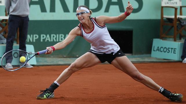 Petra Kvitova ended the remarkable run of qualifier Yaroslava Shvedova