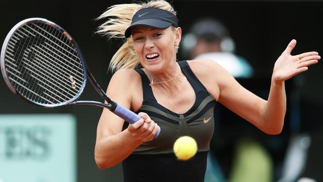 Maria Sharapova has won three of her five previous encounters with Petra Kvitova