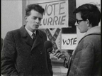Austin Currie speaking to RTÉ News reporter, Ronnie Turner, on 20 February 1969.