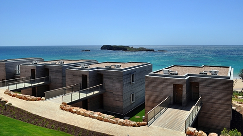 The Martinhal Resort is set within a protected natural park, just outside the historic town of Sagres