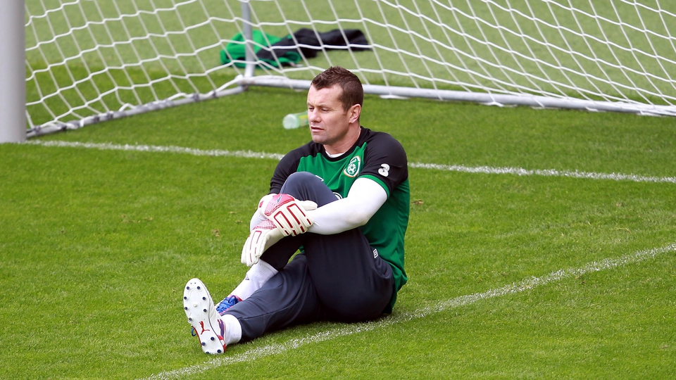 Shay Given's participation was the main focus