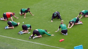 The squad will depart their base for Poznan on Saturday morning as the first Euro 2012 match edges closer