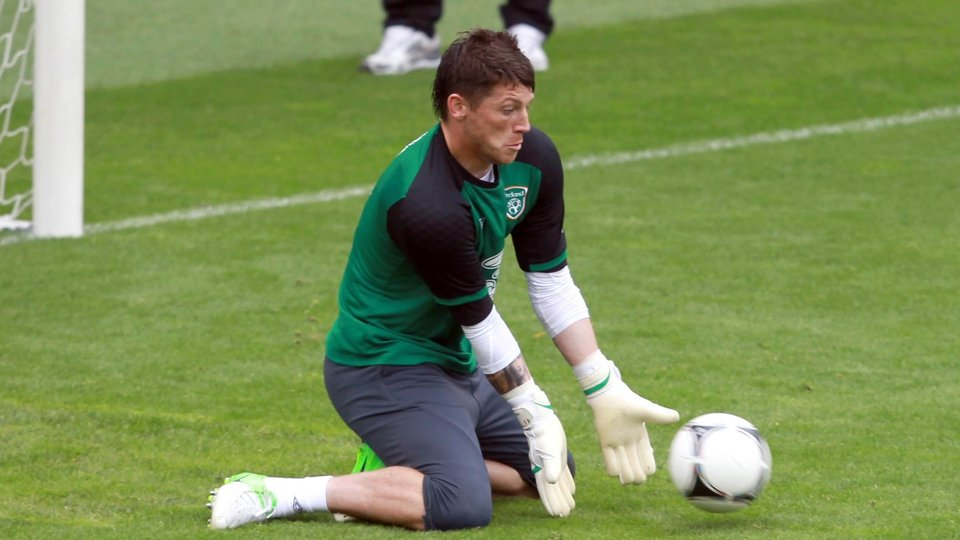 Keiren Westwood is waiting in the wings should Given suffer any injury issue during the tournament