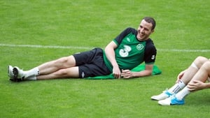 As was the fit-again John O'Shea after 90 minutes in the match against Hungary