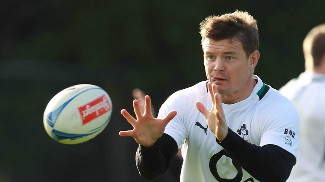 Brian O'Driscoll: 'At some stage in the future, whether it is this year, next year or in 20 years' time, an Irish team is going to beat the All Blacks before the world implodes.'