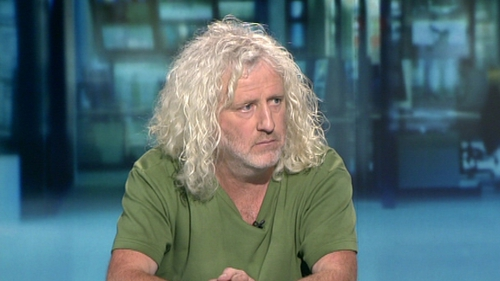 """Mick Wallace said """"I really did believe that I would have been able to pay the VAT at a later stage and I was trying to save the company."""""""