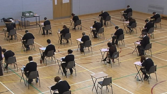 Thousands of students begin exams today