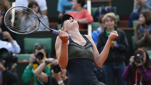 Maria Sharapova will top the world rankings when the updated WTA list is published on Monday