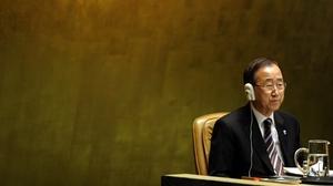 "UN Secretary-General Ban Ki-moon said: ""Violence against women is a heinous human rights violation, global menace, a public health threat and a moral outrage."""