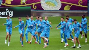 The Netherlands play Denmark tomorrow