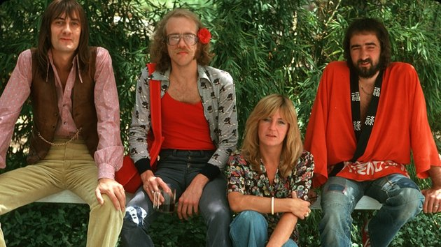 Bob Welch (second left) - Sang and played guitar on five Fleetwood Mac albums